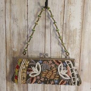 Evening Clutch Pusre Beaded Bag Sequins Vintage  f5a504a140923